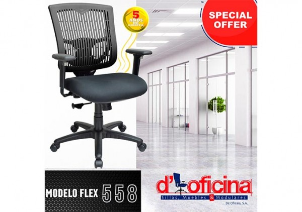 Sillas FLEX 558